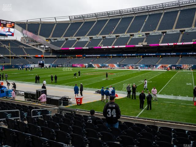 Soldier Field Section 106 view