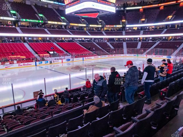 Canadian Tire Centre Section 108 view