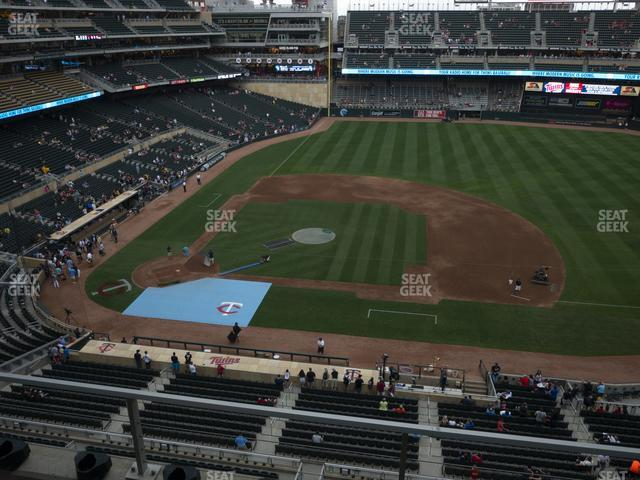 Target Field Section 209 view