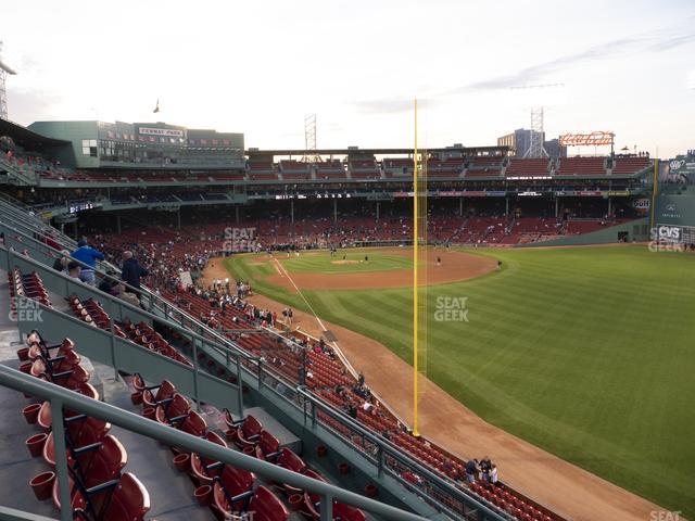 Fenway Park Right Field Roof Box 41 view