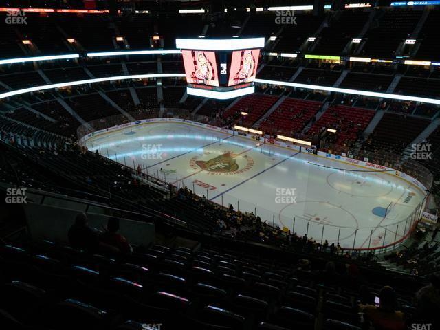 Canadian Tire Centre Section 319 view