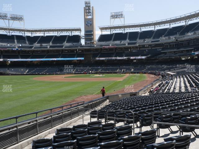 Petco Park Section 124 view