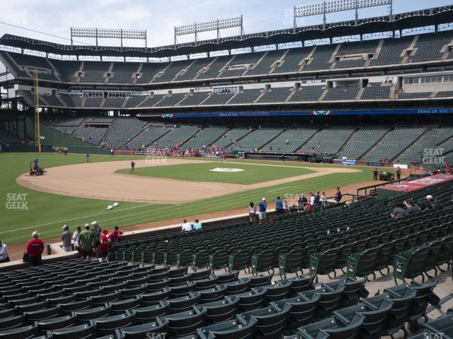 Globe Life Park Section 15 view