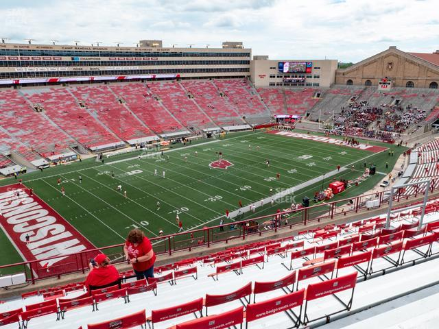 Camp Randall Stadium Section JJ view