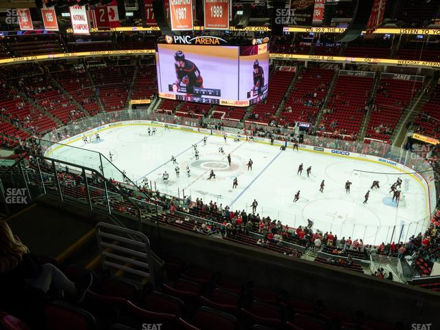 PNC Arena Section 322 view