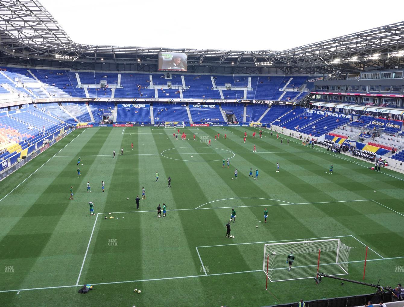 Ny Red Bull Arena Seating Chart Elcho Table