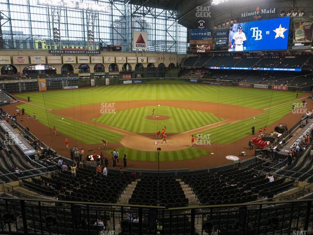 Minute Maid Park Section 219 view