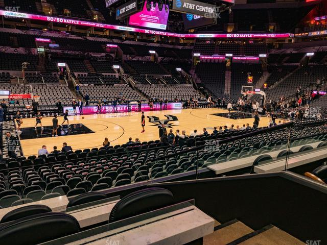 AT&T Center Box 8 view