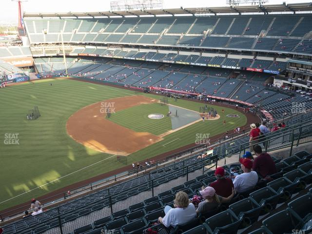 Angel Stadium of Anaheim Section 510 view