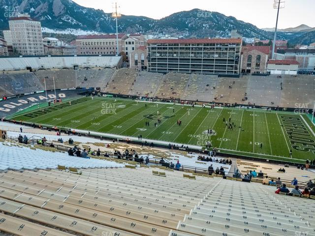 Folsom Field Section 577 view