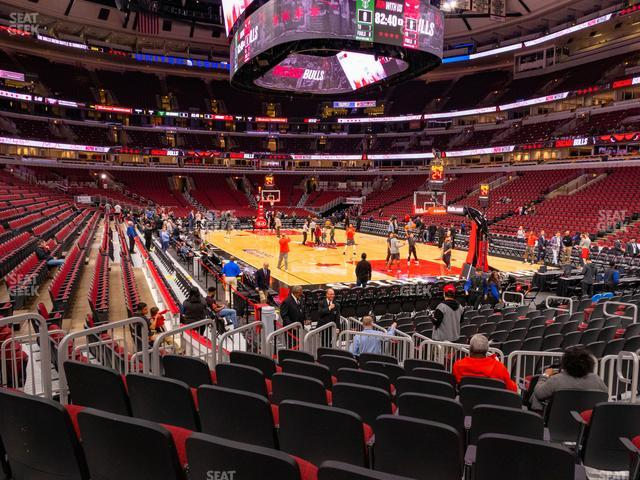 United Center Section 119 view