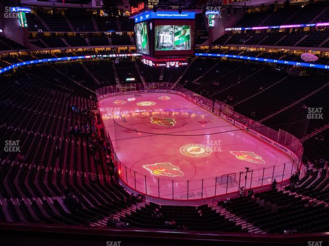 Xcel Energy Center Section Club 18 view