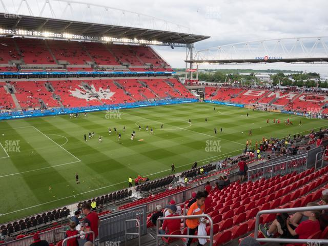 BMO Field Section 227 view