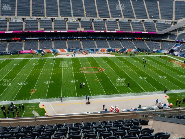 Soldier Field Section 310 view