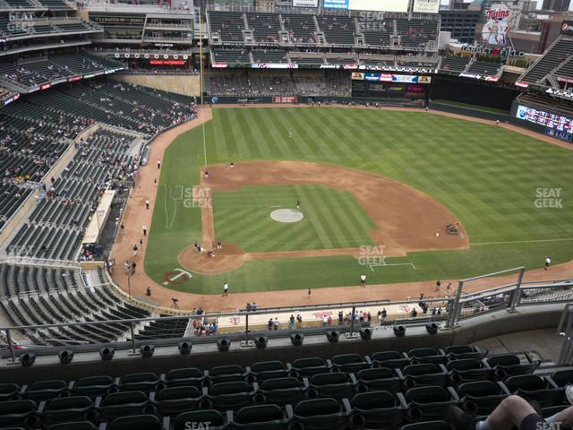 Target Field Section 311 view