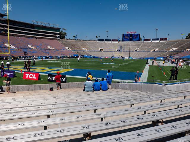 The Rose Bowl Lower 27 H view