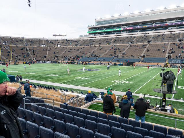 Notre Dame Stadium Preferred Seating 26 view