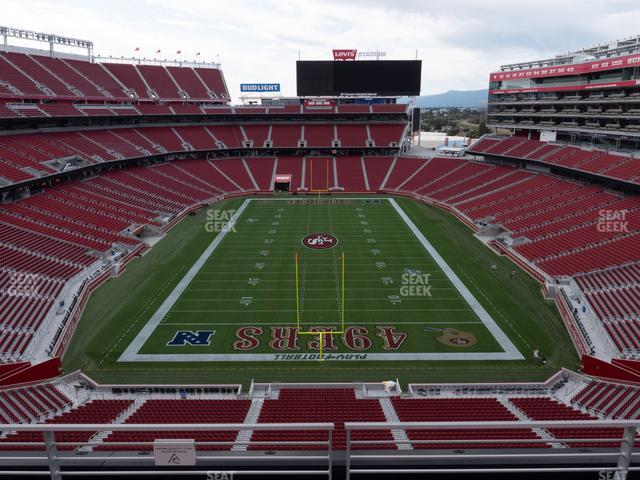Levi's Stadium Section 303 view
