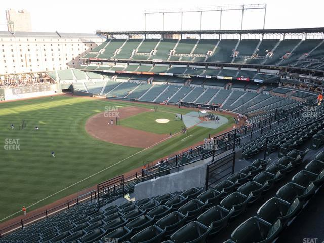 Oriole Park at Camden Yards Section 364 view