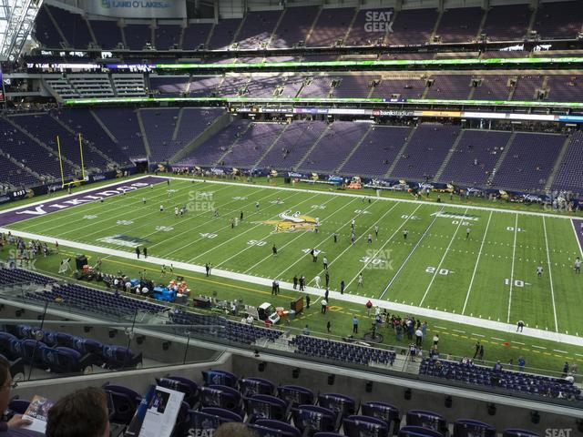 U.S. Bank Stadium Section 231 view