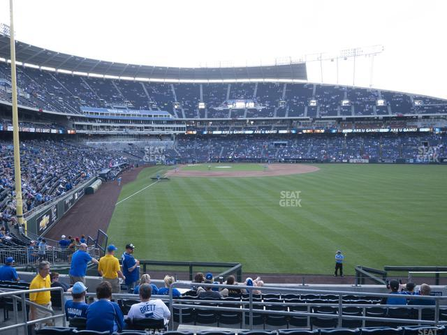 Kauffman Stadium Section 251 view