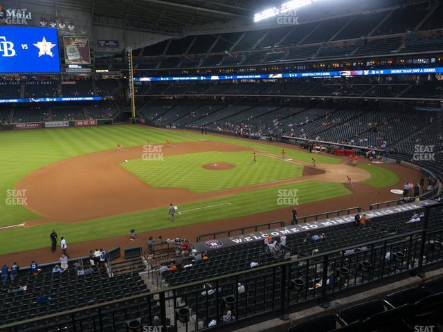 Minute Maid Park Section 211 view