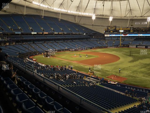 Tropicana Field Section 220 view