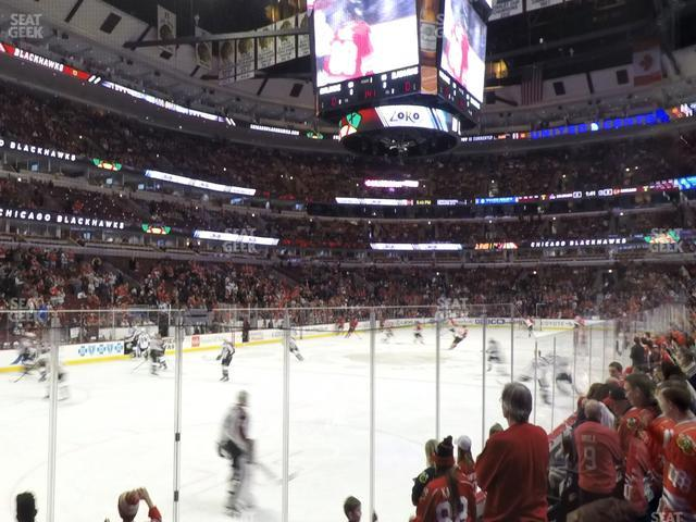 United Center Section 115 view