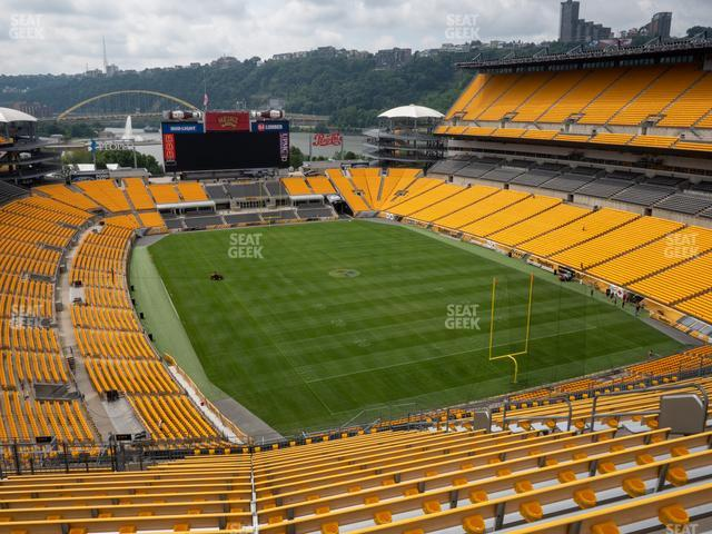 Heinz Field Section 519 view