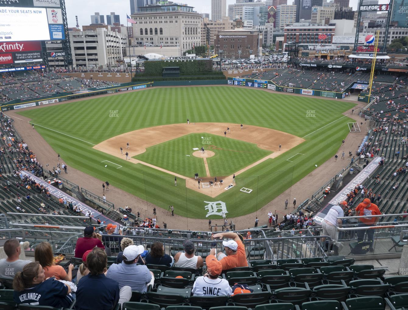Comerica Park Section 328 Seat Views | SeatGeek