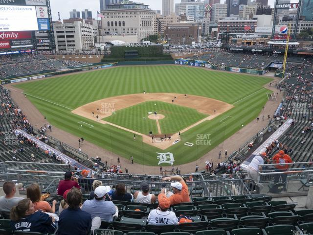 Comerica Park Section 328 view
