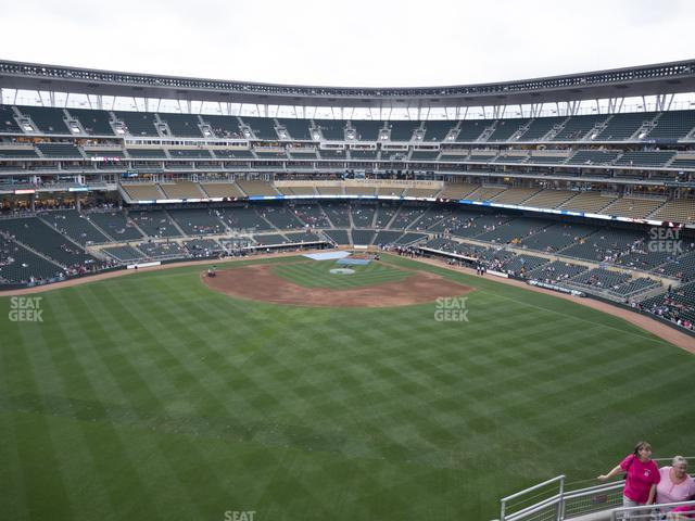 Target Field Section 334 view