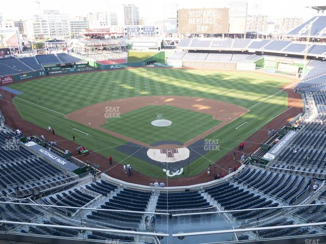 Nationals Park Section 313 view