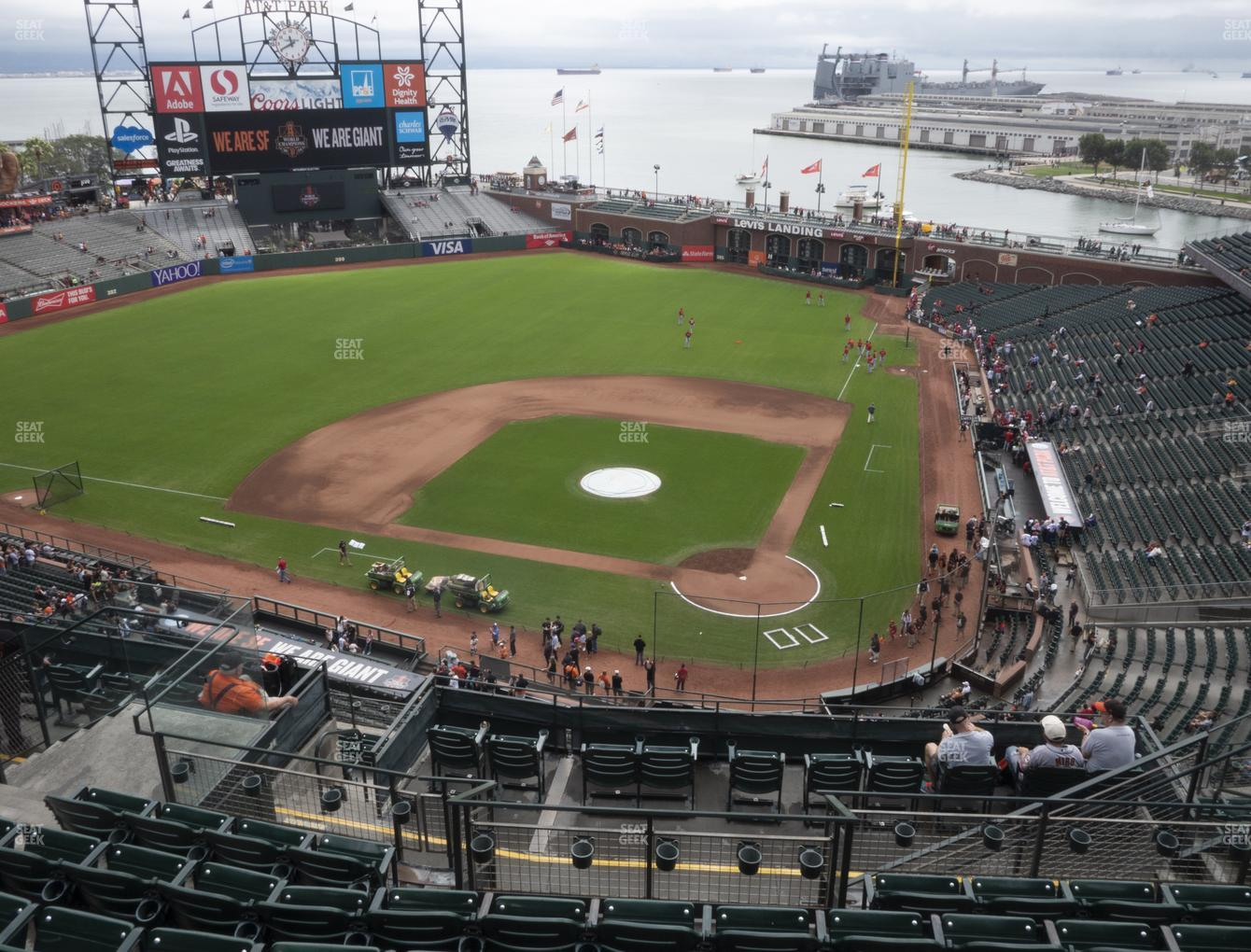 San Francisco Giants at Oracle Park Section 319 View