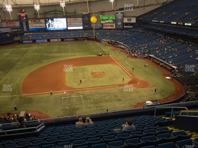 Tropicana Field Section 311 view