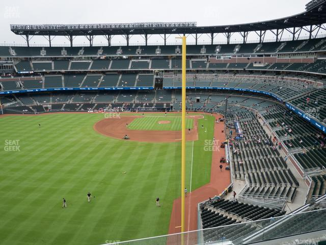 SunTrust Park Section 345 view