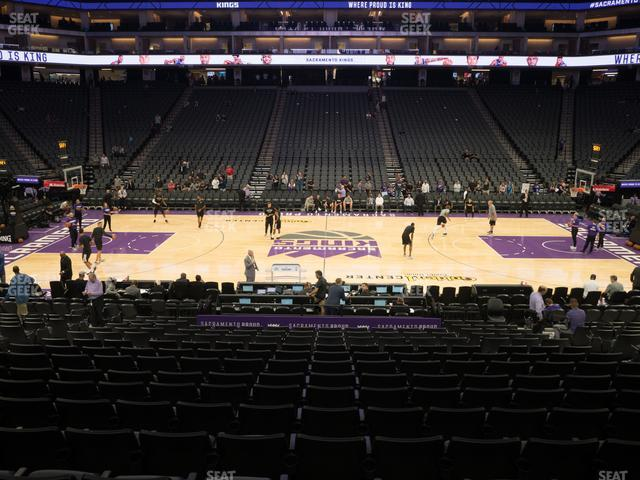 Golden 1 Center Section 107 view