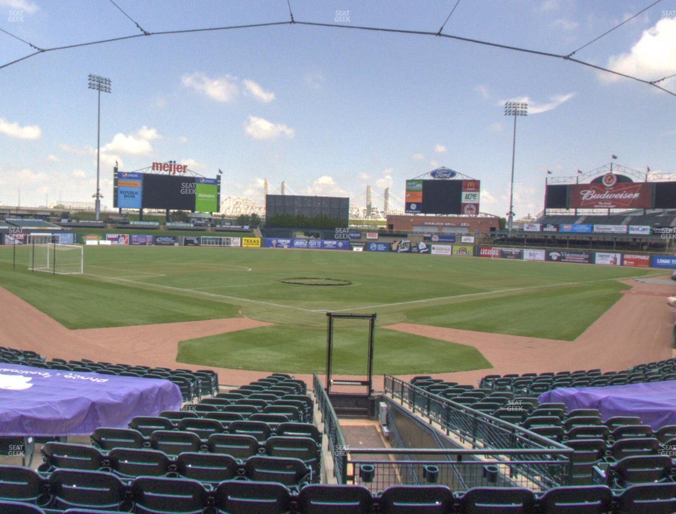 Louisville Slugger Field Section 115 Seat Views Seatgeek