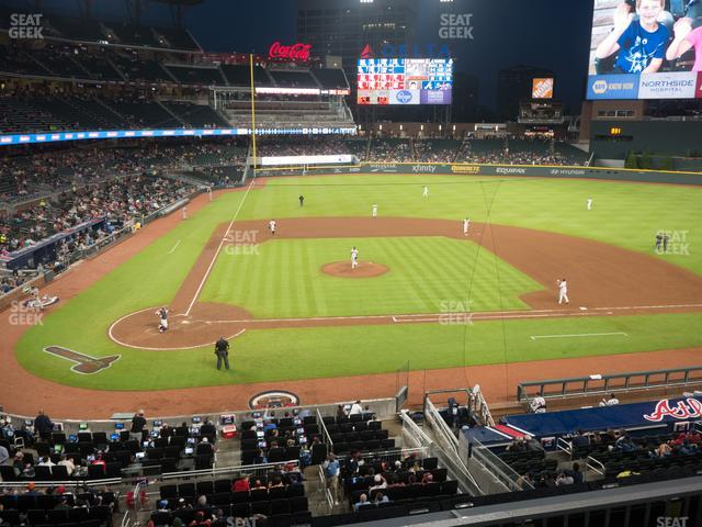 SunTrust Park Section 222 view