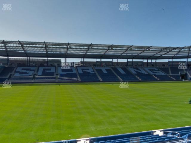 Children's Mercy Park Section 104 view