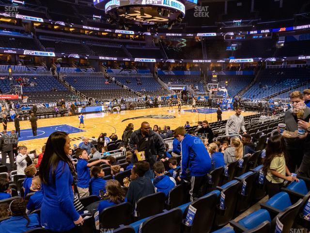 Amway Center Section 116 view