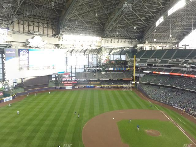 Miller Park Section 430 view