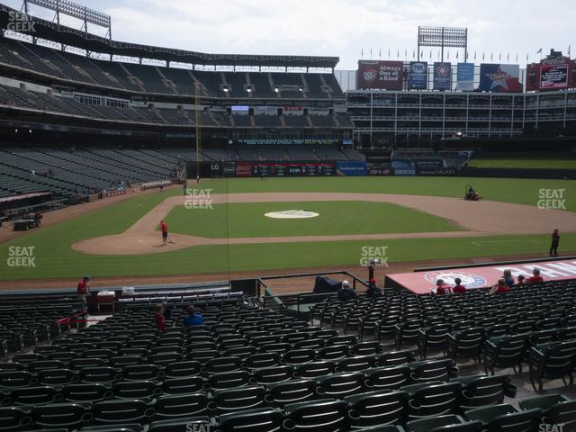 Globe Life Park Section 31 view