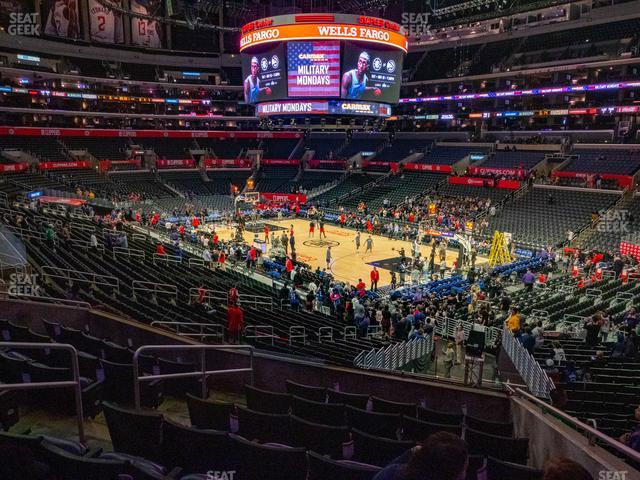 Staples Center Premier 1 view