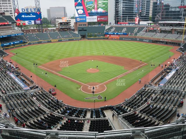 SunTrust Park Section 326 view