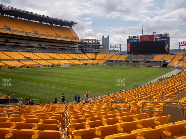 Heinz Field Section 128 view