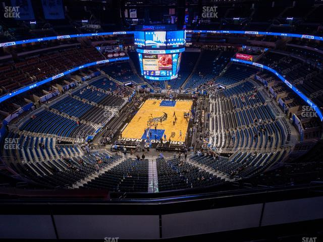 Amway Center Section 216 view