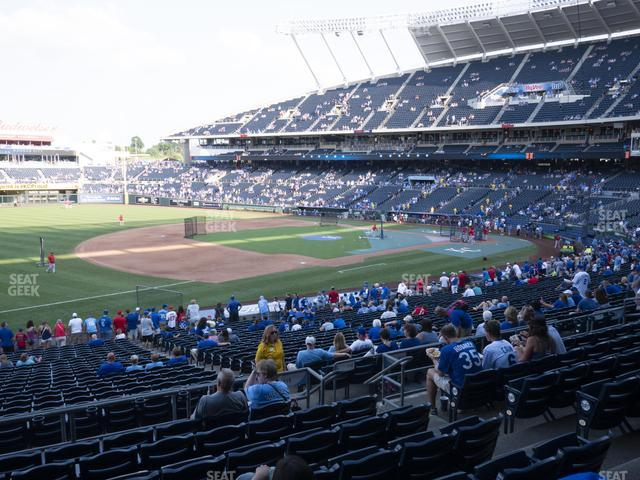 Kauffman Stadium Section 215 view