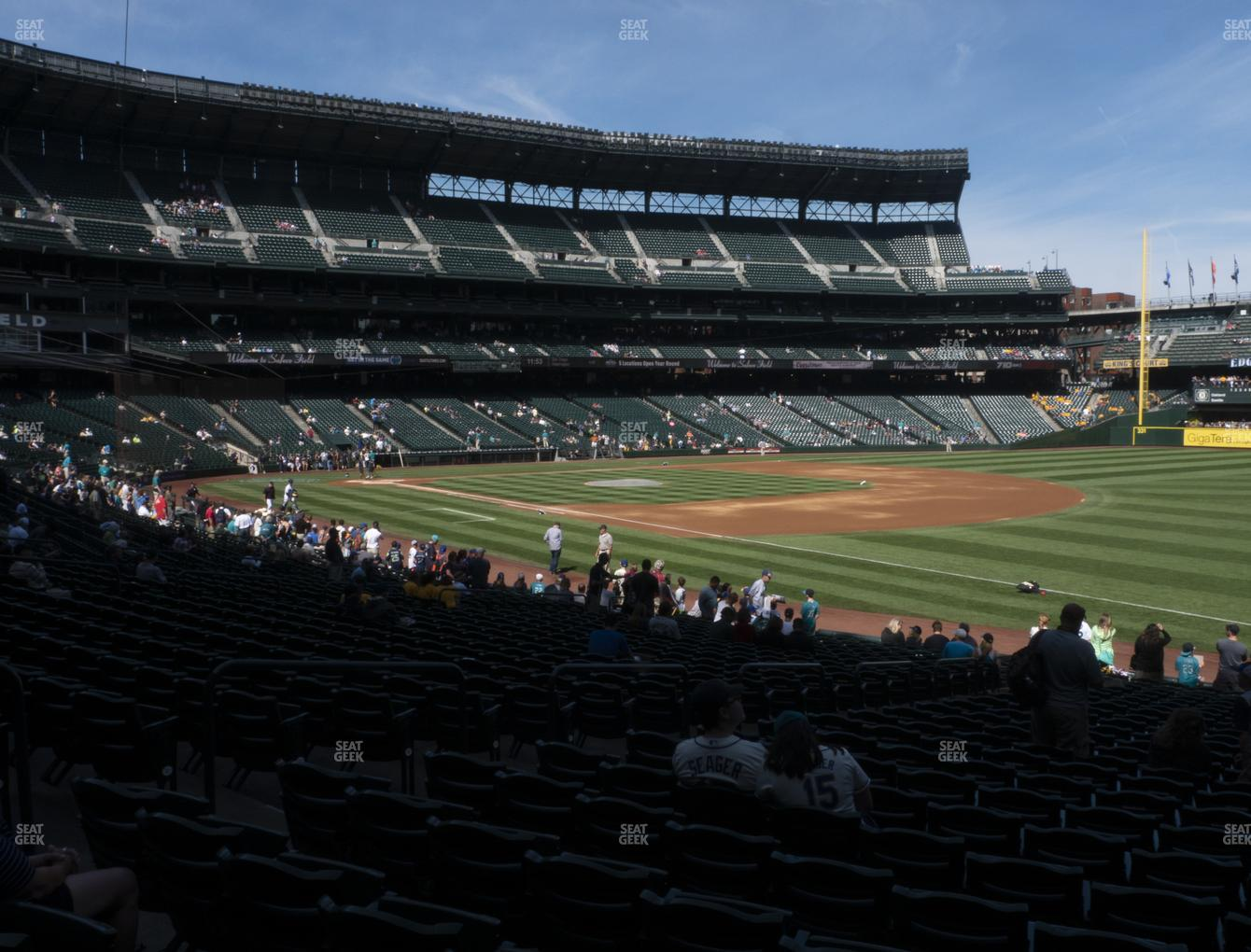 MLB at T-Mobile Park Section 116 View
