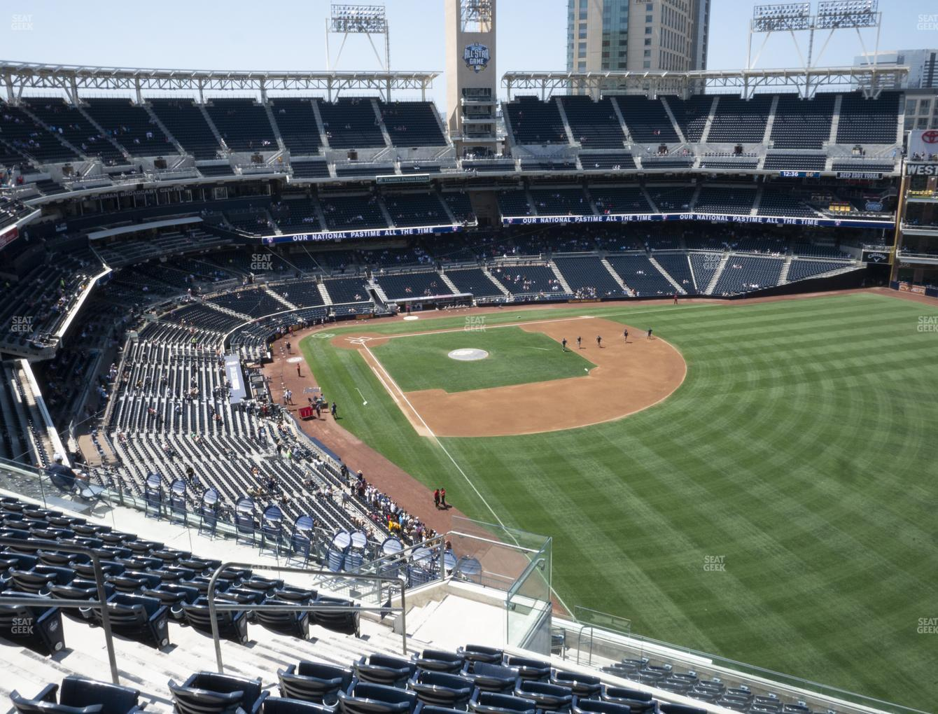 San Diego Padres at Petco Park Section 327 View